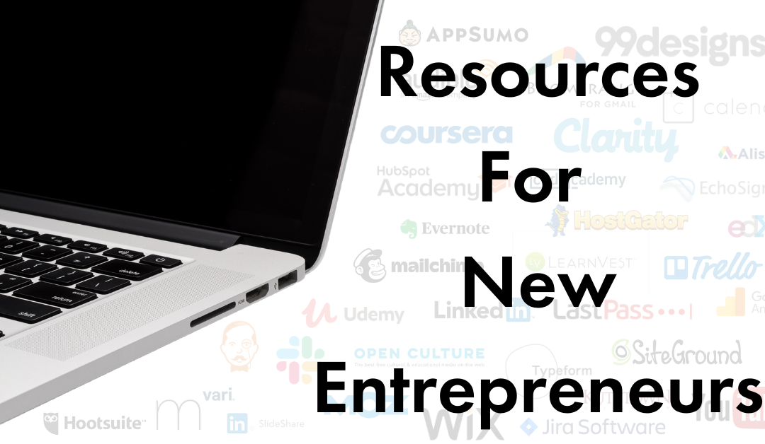 RESOURCES FOR NEW ENTREPRENEURS
